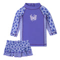 Baby Girl's 2PC Sunny Swim Set