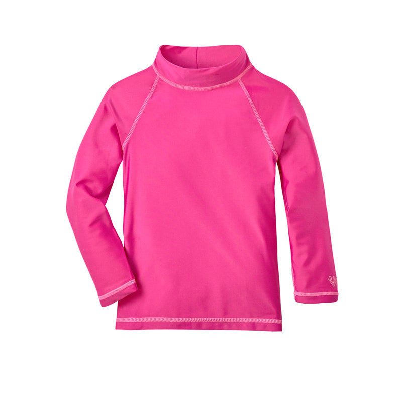 Baby Girl's Long Sleeve Sun & Swim Shirt
