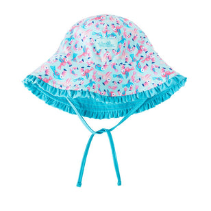 Baby Girl's Reversible Sun Hat