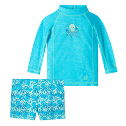 Baby Boy's 2PC Adventure Swim Set