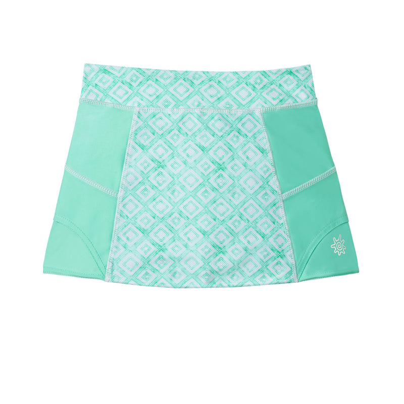 Girl's Sporty Swim Skirt
