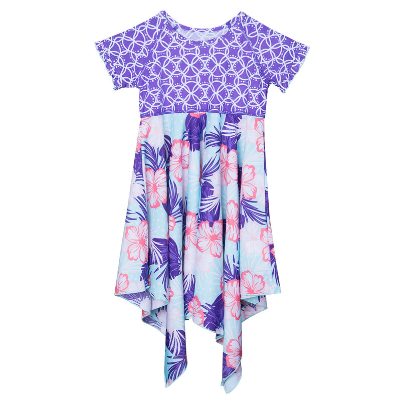 Girl's Twirly Girl Sun Dress