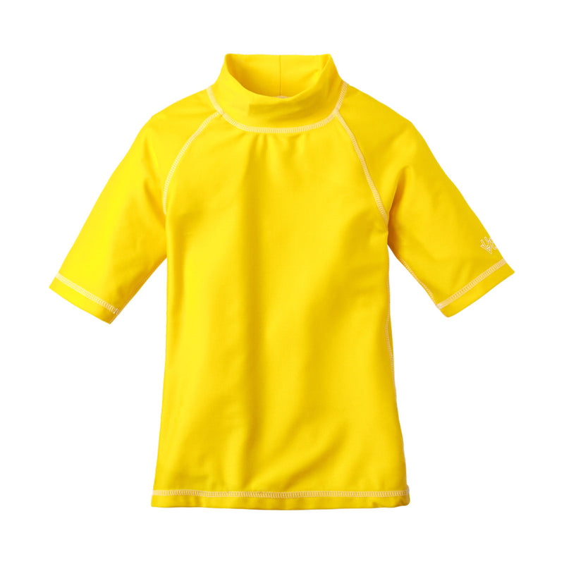 Girl's Short Sleeve Sun & Swim Shirt