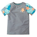 Girl's Short Sleeve Crew Sun & Swim Shirt | FINAL SALE