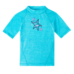 Girl's Short Sleeve Sport Sun & Swim Shirt | FINAL SALE