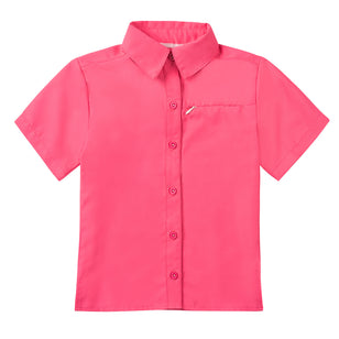 Girl's Short Sleeve Travel Shirt