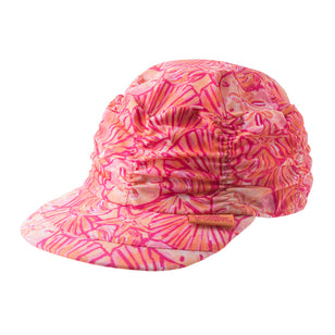 Girl's Ruched Sun Cap
