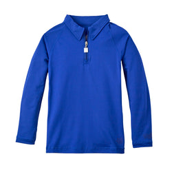 Boy's Long Sleeve Half Zip Sun Shirt | FINAL SALE
