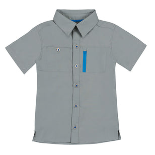 Boy's Short Sleeve Travel Shirt | FINAL SALE