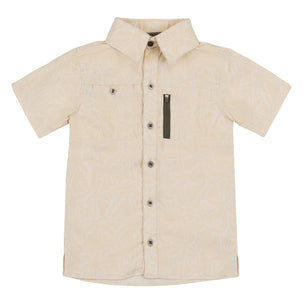Boy's Short Sleeve Travel Shirt