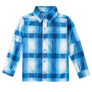 Boy's Long Sleeve Travel Shirt