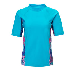 Women's Short Sleeve Active Sun & Swim Shirt