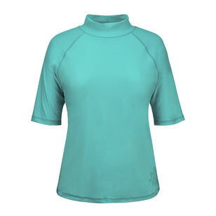 Women's Short Sleeve Sun & Swim Shirt