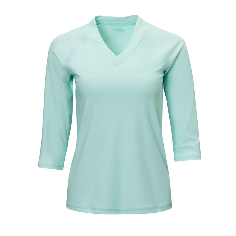 Women's V-Neck Sun & Swim Shirt