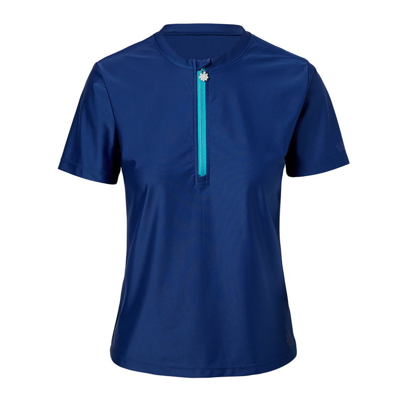 Women's Quarter Zip Crew Sun & Swim Shirt