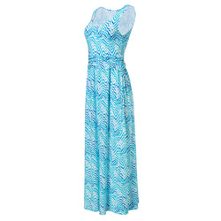 Women's V-Neck Maxi Dress
