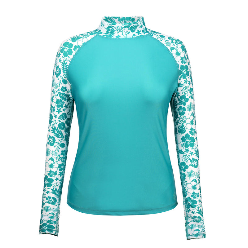 Women's Aloha Long Sleeve Sun & Swim Shirt