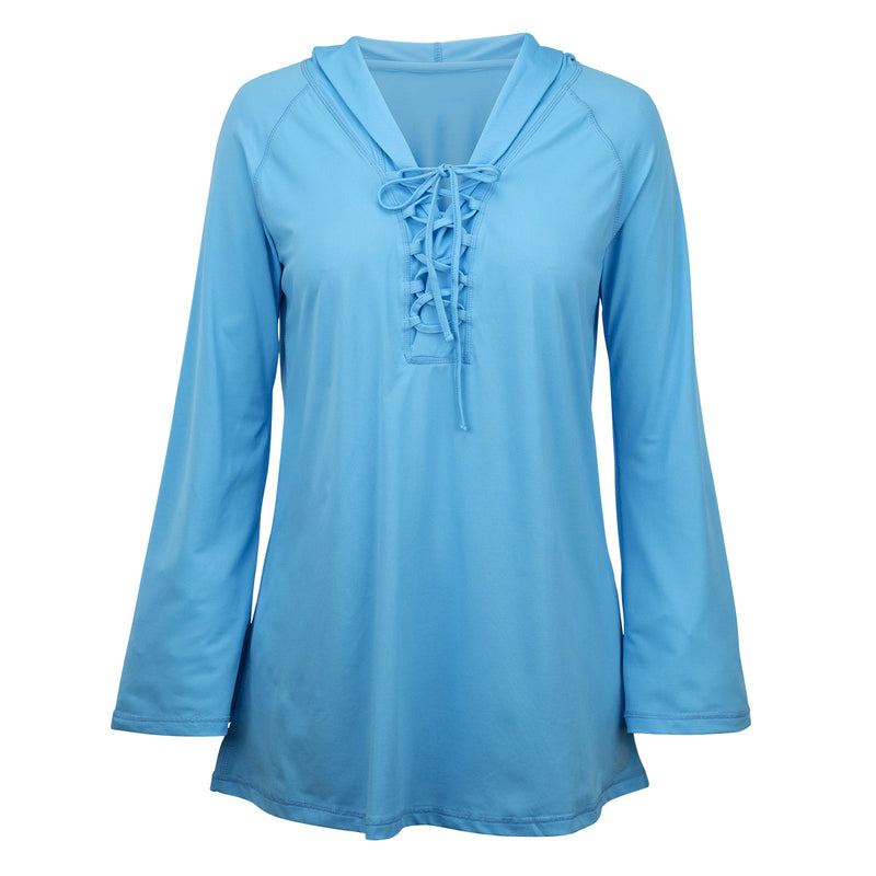 Women's Hooded Beach Cover Up