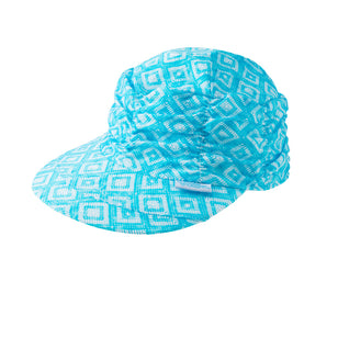 Women's Ruched Sun Cap