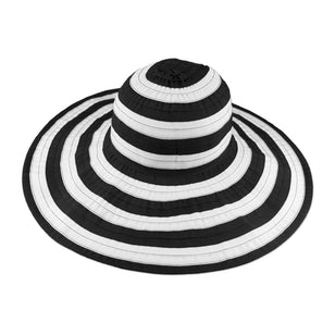 Women's Striped Beach Hat