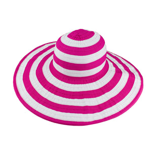 Women's Striped Beach Hat | FINAL SALE