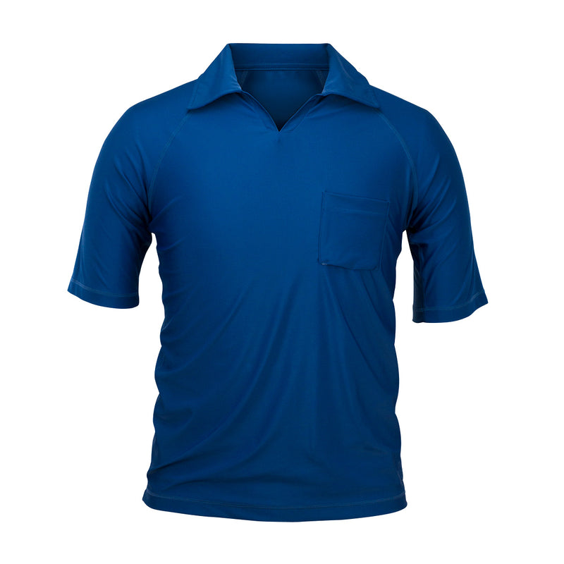 Men's V-Neck Short Sleeve Sun & Swim Shirt | FINAL SALE