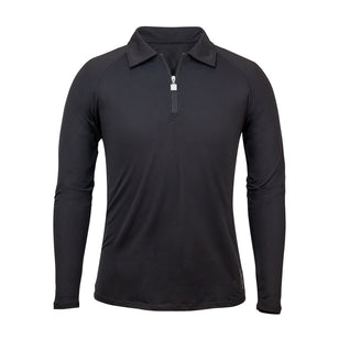 Men's Long Sleeve Half Zip Sun Shirt | FINAL SALE