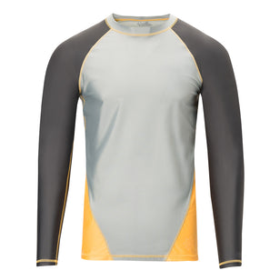 Men's Long Sleeve Sport Crew Sun & Swim Shirt