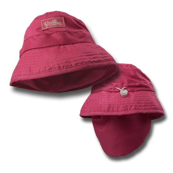 Sterntaler Girls Sun Hat with Neck Protection