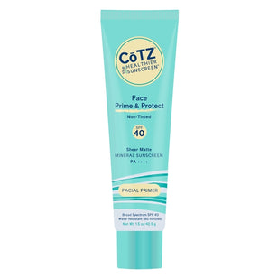 CoTZ Face Prime & Protect - Non-Tinted Sunscreen - SPF 40+ (1.5oz)