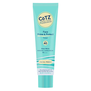 CoTZ Face Prime & Protect - Tinted Sunscreen - SPF 40+ (1.5oz)