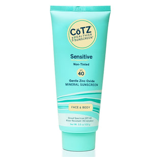 CoTZ Sensitive - Non-Tinted Sunscreen - SPF 40+ (3.5oz)