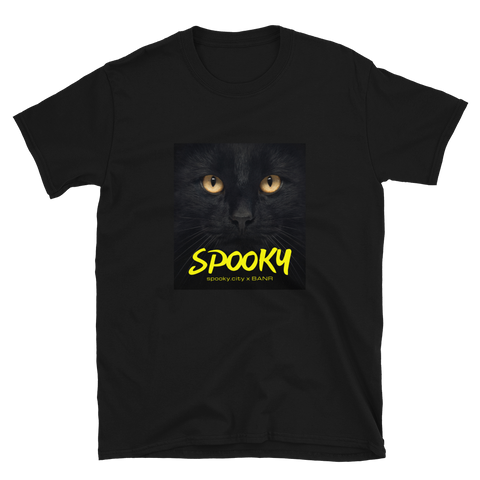 SPOOKY THE CAT Short-Sleeve Unisex T-Shirt