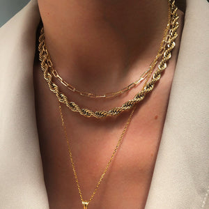 Chunky Rope Chain - Neckontheline