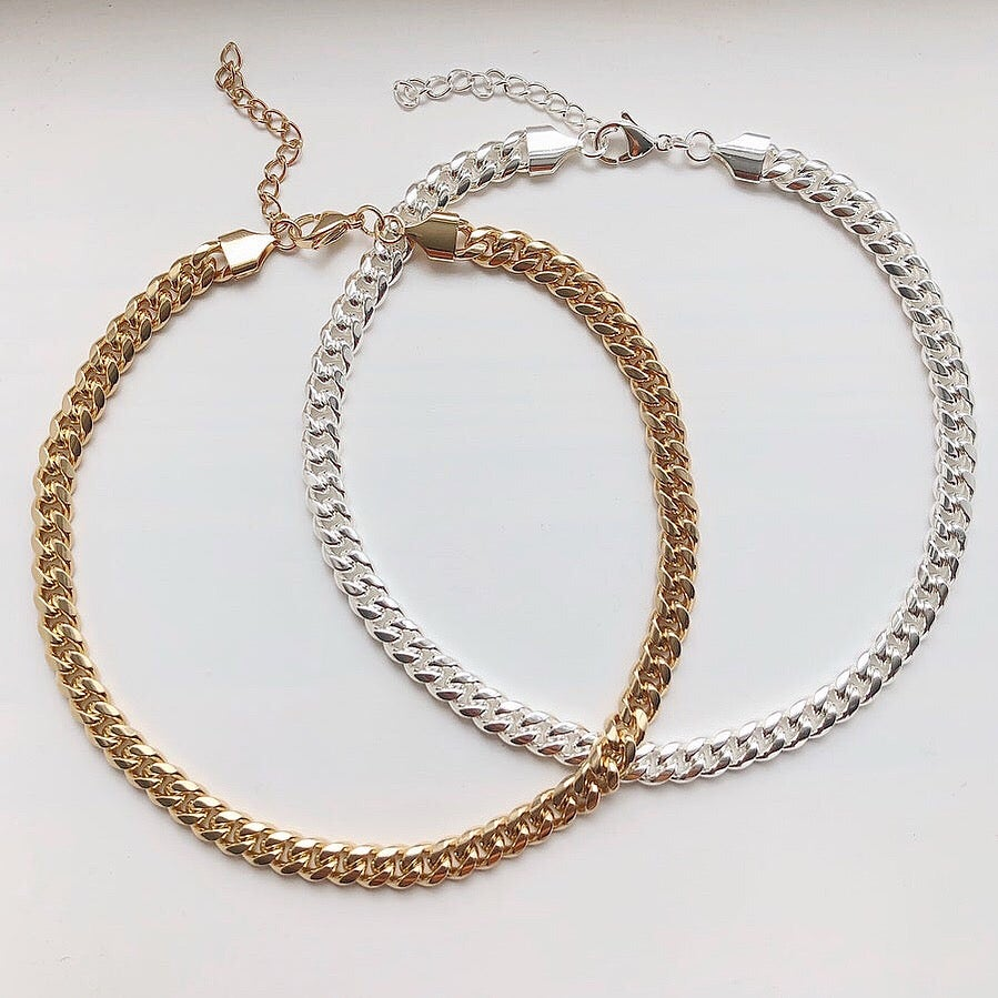Thick Curb Necklace - Neckontheline