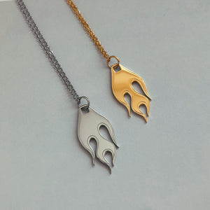 Flame necklace - Neckontheline