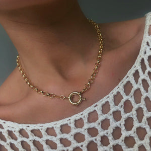 Gold Filled Belcher Chain - Neckontheline