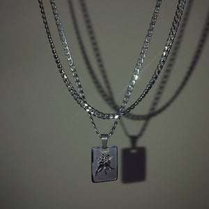 Angel Tag Necklace - Neckontheline
