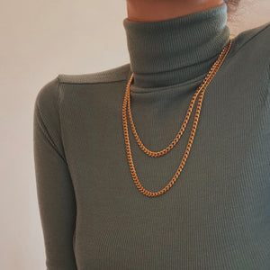Layering Curb necklace