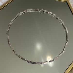 Cairo Necklace Rhodium
