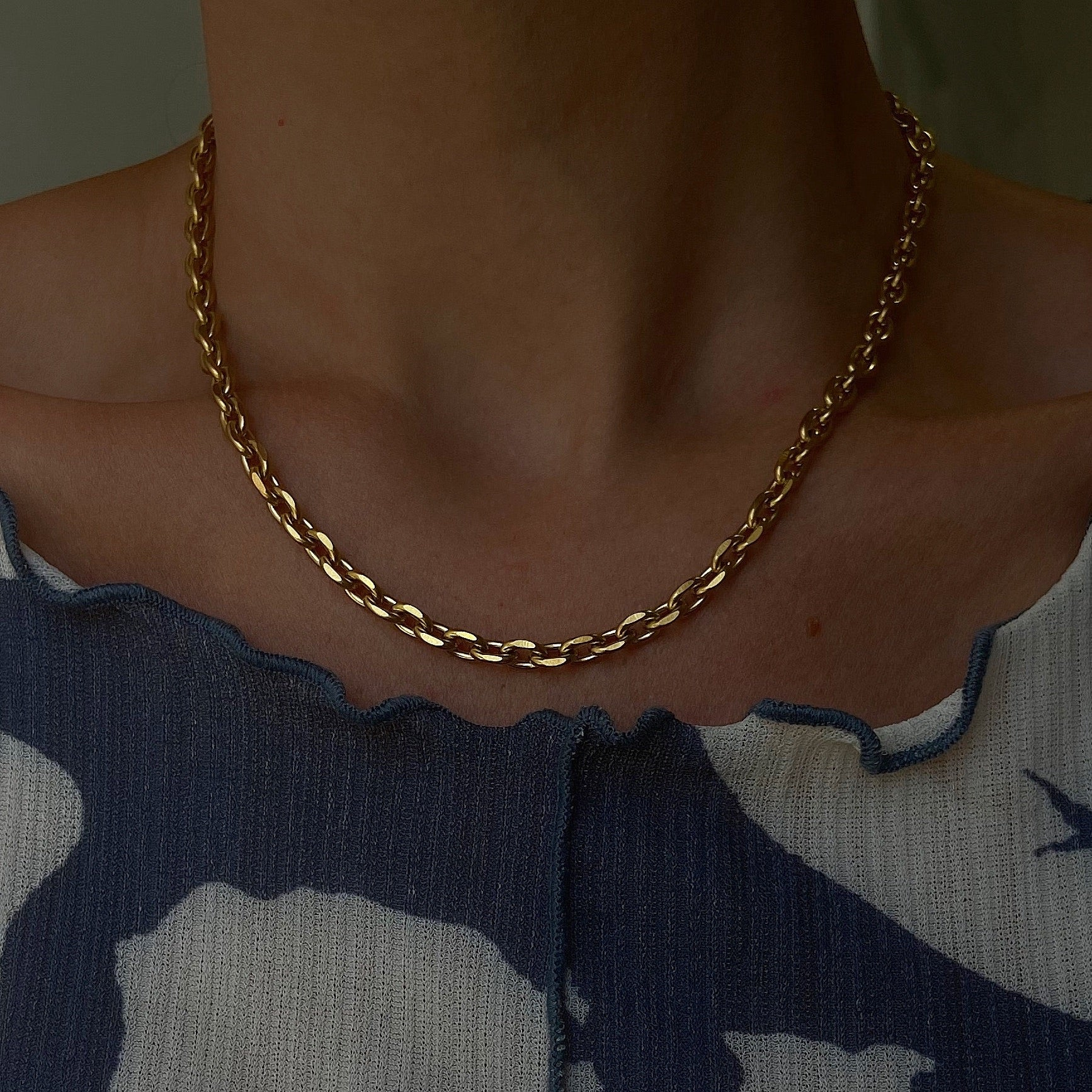 Faceted Cable Chain II
