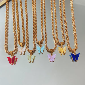 Butterfly Rope Chain