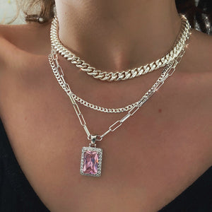 Pink ice chain