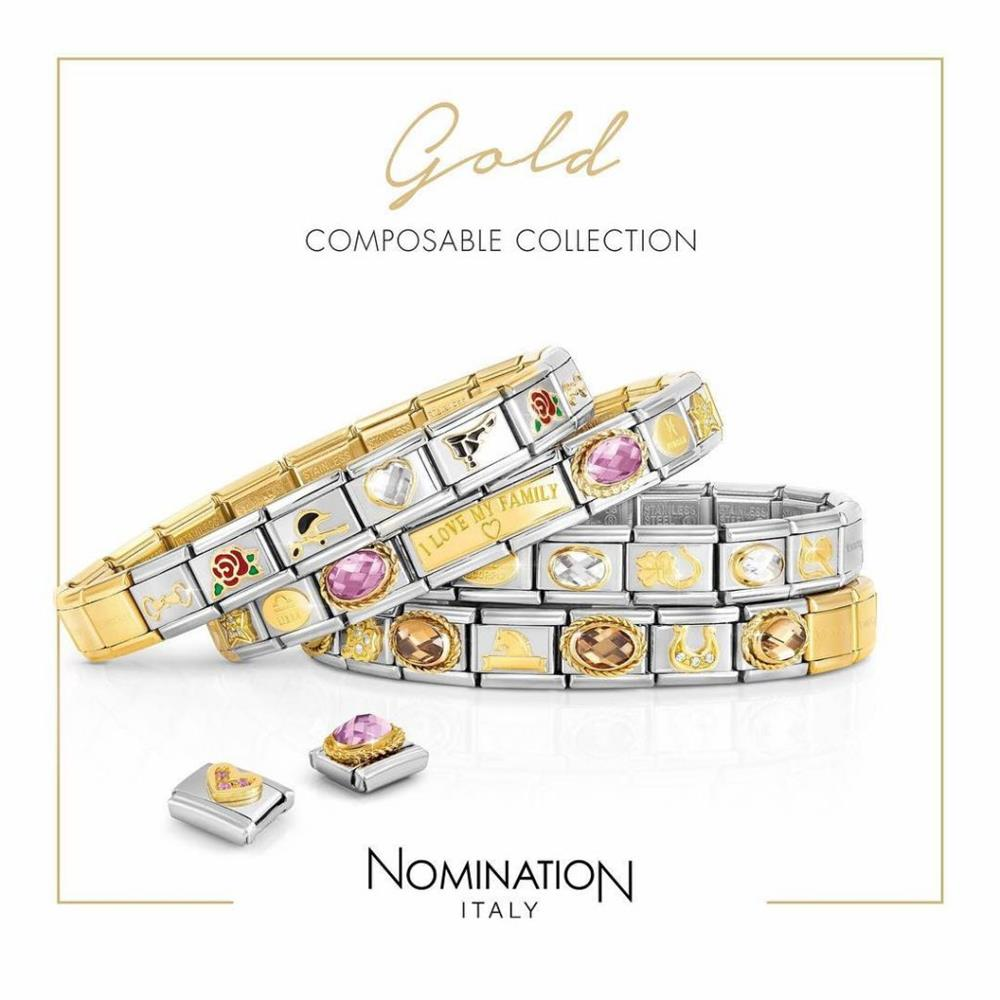 The history of Nomination Bracelet, from the 80's to the present, a bracelet giving emotions a name.