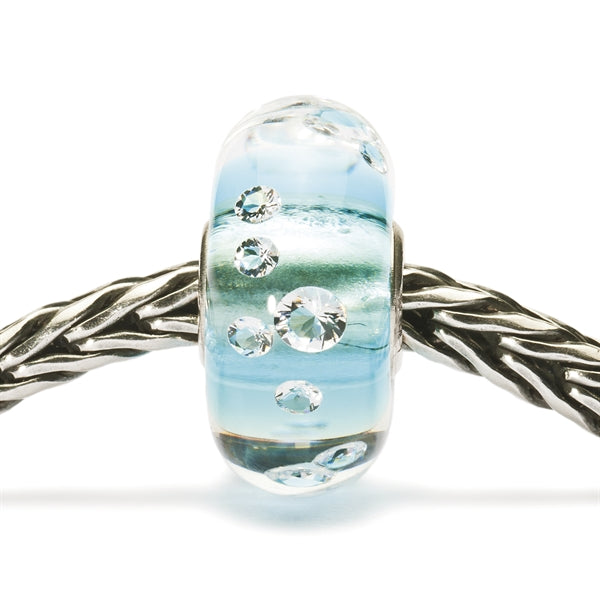 Trollbeads Diamond Bead Ice Blue