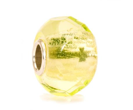 Trollbeads Glass Lime Prism
