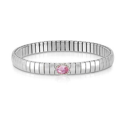 Nomination Extension Pink Faceted Cubic Zirconia Bracelet
