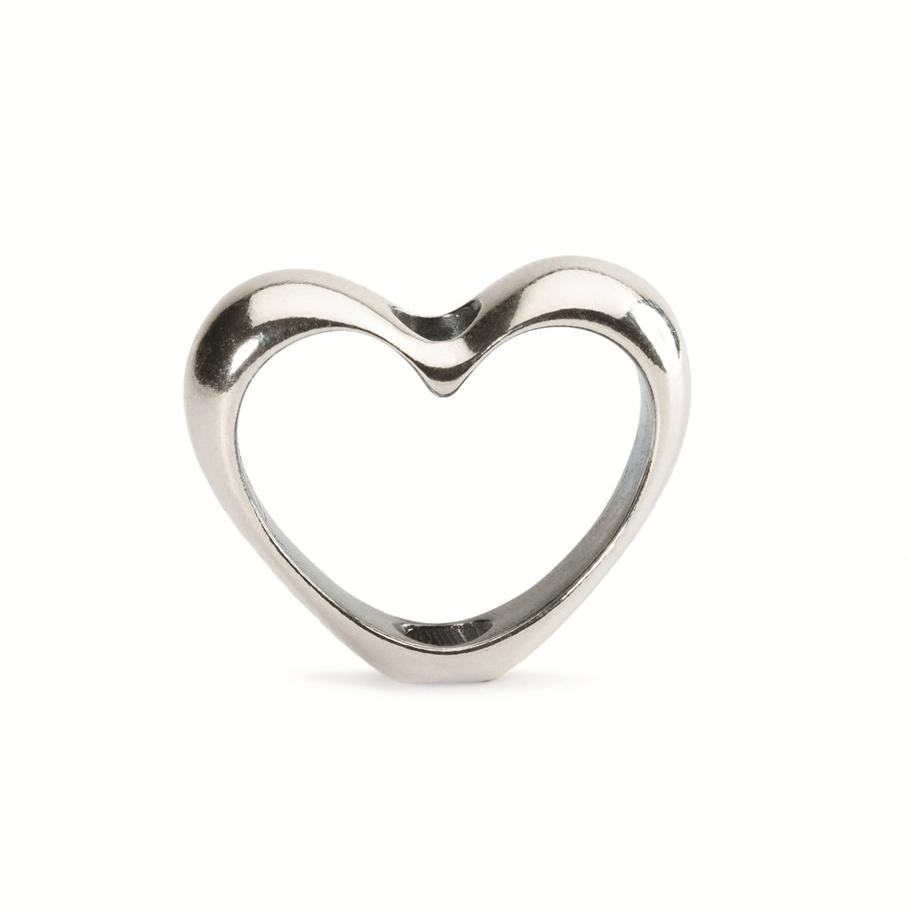 Trollbeads In Your Heart Silver Charms TAGPE-00008