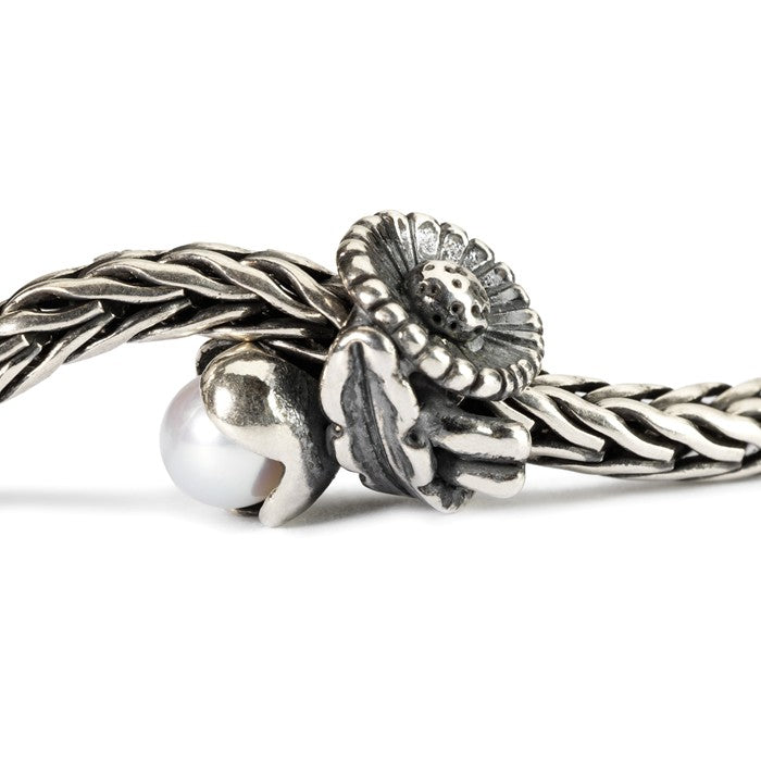 Trollbeads SILVER Daisy of April TAGBE-00030