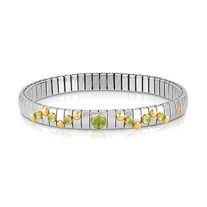 Nomination Extension Bracelet Peridot Stone